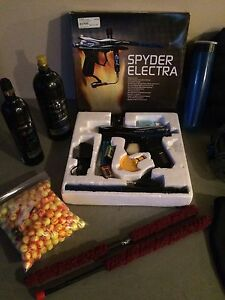 Spyder Electra Paintball Gun & Accessories