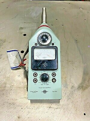 Bk Bruel Kjaer 2203 Precision Sound Meter Frequency Analyzer