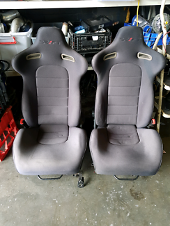 Pair of drift bucket seats
