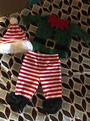 Toddler elf costume size 3/6 months - Toddler Elf Costume