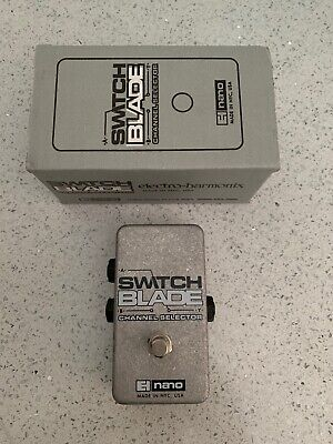DISCONTINUED Electro-Harmonix Switchblade Passive Channel Selector Pedal