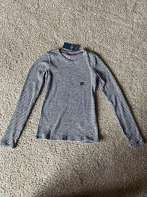 NWT Abercrombie Kids Girls Top Shirt Longsleeve Size 9/10