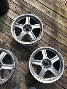"Set of 18"" Enkie wheels 5 x 114.3 (5x4.5) , 5x 115"