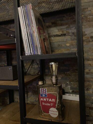 Lampe vintage deco ancien bidon d'huile