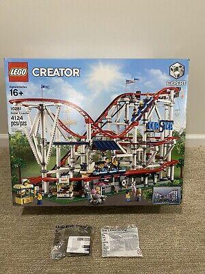 Lego Creator Expert Roller Coaster 10261 +Power Functions Motor+Battery Box *New