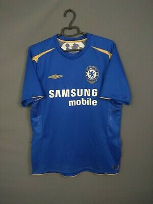 Chelsea Jersey 2005/06 Home LARGE Shirt Mens Football Soccer Umbro ig93 image