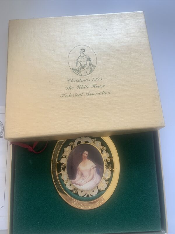1993 The White House Historical Association Christmas Ornament w/ box