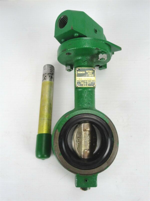 """DEMCO - 2"""" Butterfly Valve with Handle - 2148-1215311 - 150 PSI - NE/GI/NY-PL"""
