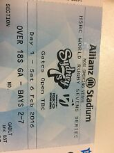 4x rugby 7s tickets for Saturday general admission Erskineville Inner Sydney Preview