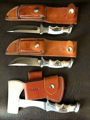 BEAUTIFUL RUANA KNIVES & HATCHET