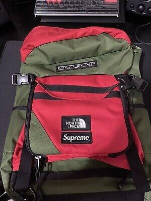 Supreme x North Face backpack Steep Tech SS16