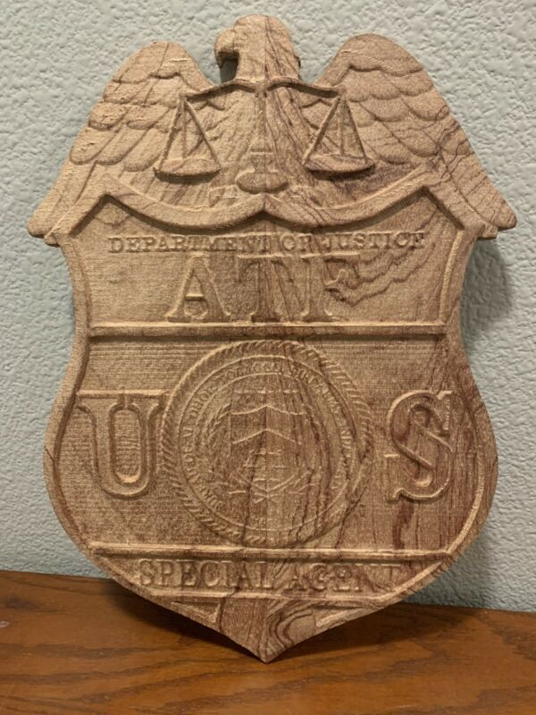 ATF Mahogany 15x10 Plaque