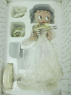The Danbury Mint Betty Boop Bridal Beauty Porcelain Doll - Wedding Collection