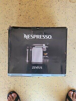 Nespresso Professional Zenius Machine