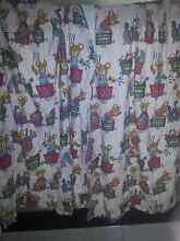 Gorgeous set of 4 teddy bear curtains Goodna Ipswich City Preview