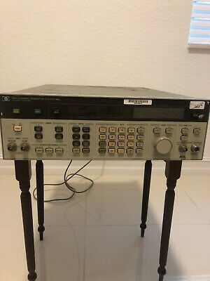 Hp Agilent Keysight 8642a Synthesized Signal Generator 100 Khz-1050 Mhz Tested