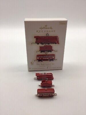 Hallmark Keepsake Christmas Ornament The Red Comet Lionel Trains Set 3