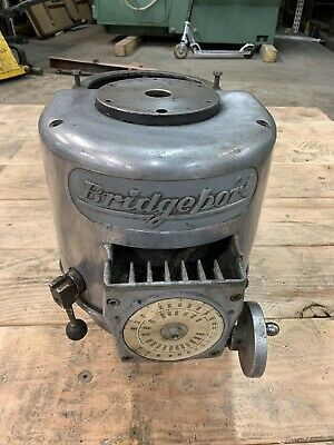 Bridgeport Milling Machine Variable Speed Upper Half Parts Unit