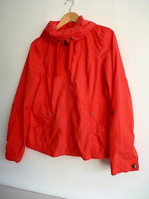 Ladies Lovely Bhs Authentic Coral Pink Light Waist Length Zip Jacket Size 14, Vg - Authentic Pink Ladies Jacket