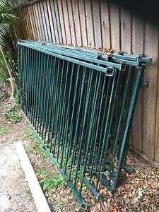 Steel pool fencing 6.87m-negotiable price Cherrybrook Hornsby Area Preview