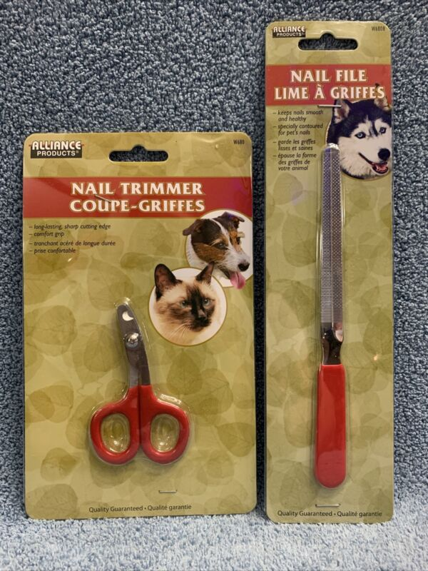 Dog or Cat Nail Trimmer And Nail File 2 Piece Set