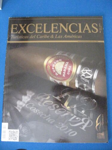 Havana Collectible EXCELENCIA Cuban magazine specializing in the world of cigar