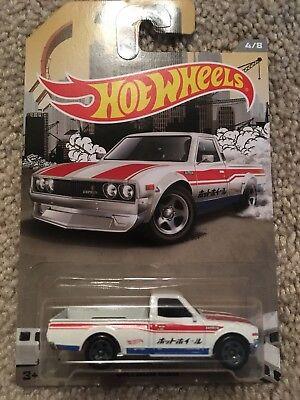 Hot Wheels Datsun 620 Rad Trucks Series 4/8 Walmart Exclusive