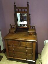 Antique Duchess Dressing Table with mirror Viewbank Banyule Area Preview