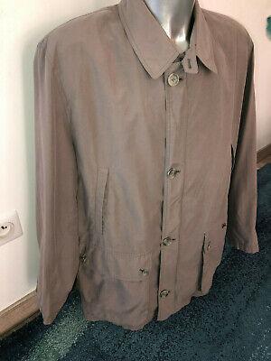 Luxueux trench manteau beige doublé laine hiver burberry london taille 56 xl