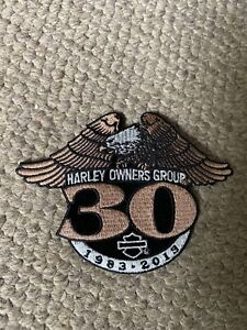 HOG 30 year anniversary patch Adelaide CBD Adelaide City Preview