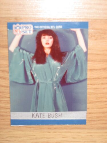 One-Of-A-Kind 1990 Pro Set Custom Made Kate Bush Rookie Card/Free Shipping!