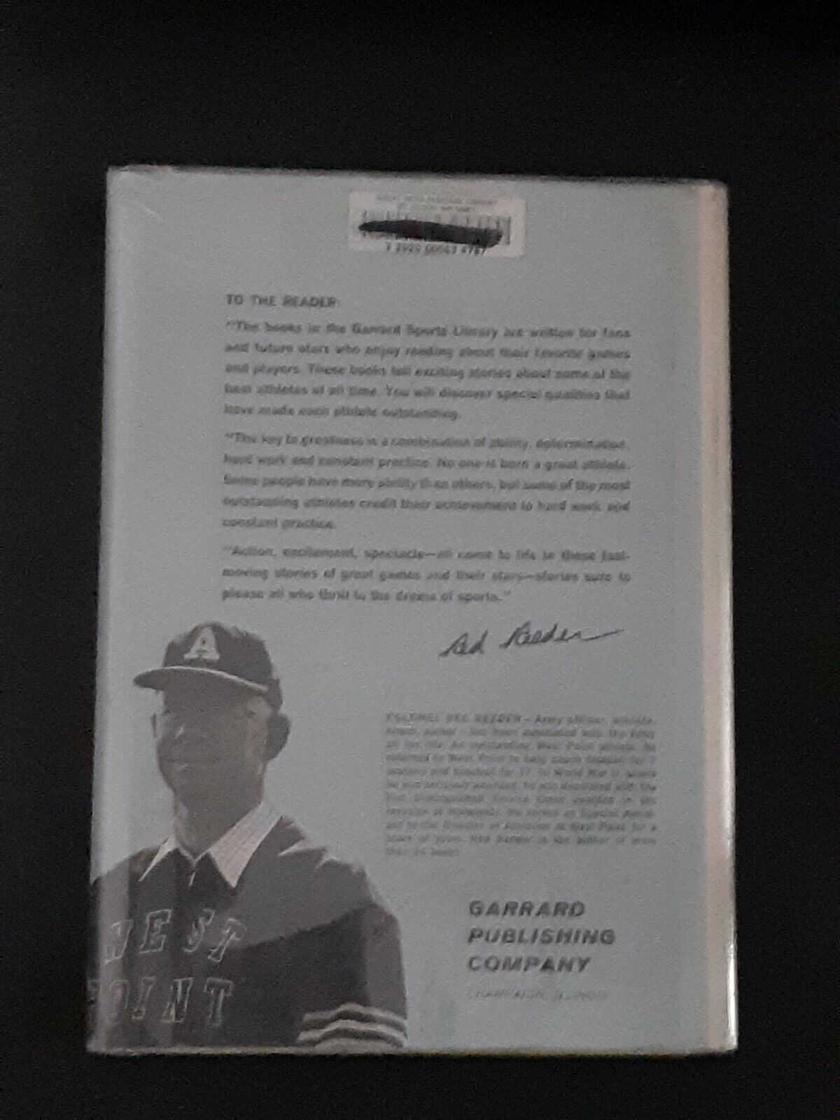 BEHIND THE PLATE THREE GREAT CATCHERS VINTAGE BASEBALL BOOK HARDCOVER VAN PIPER - $5.99