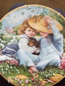 A Time to Love Collectors Plate by Sandra Kuck -reduced