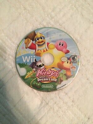 Kirbys Return To Dreamland Wii (Disk Only) (TESTED & WORKING)