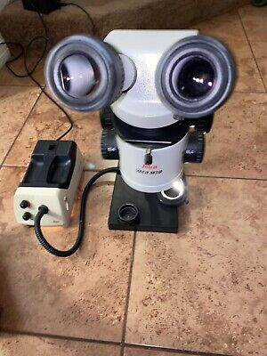 Leica Wild M3b Stereo Microscope Wergo Head