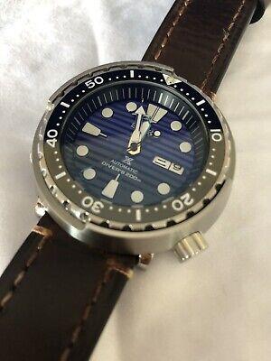 "seiko modified NH36 ""Tuna"" Customised Watch."