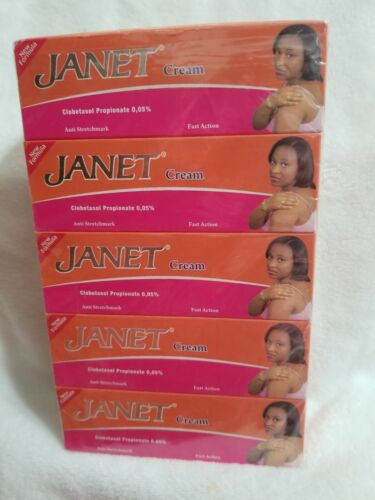 JanetLightening cream fast action stretch marks remover (5 tubes)
