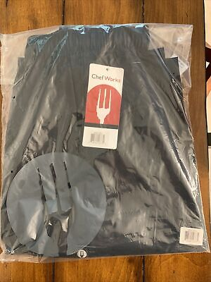 Chef Works Essential Baggy Chef Pants Black . Size Large.