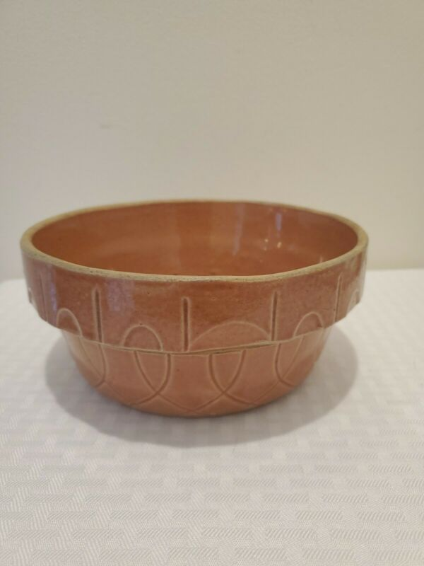 Vintage Watt Pottery Ovenware No 7 Mixing Bowl