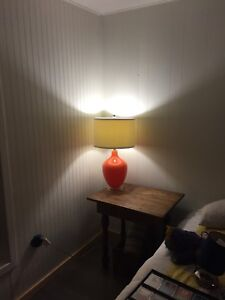 Lazy Boy Glass Lamp