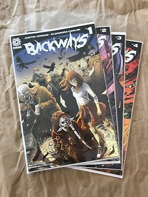 Backways #1-4 (AfterShock, 2018)