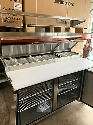 67 Inch Refrigerated Pizza Prep Table