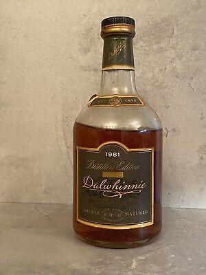 Dalwhinnie 1981 Distillers Edition Single Malt Whisky 43% Whiskey 700ml