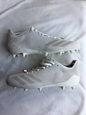 Adidas Adizero 5-star 6.0 Sunday's Best Football Suede Cleats BW0884 Chalk White