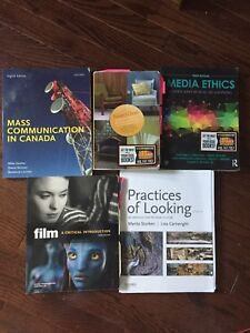 MEDIA STUDIES FIRST YEAR TEXT BOOKS FOR SALE