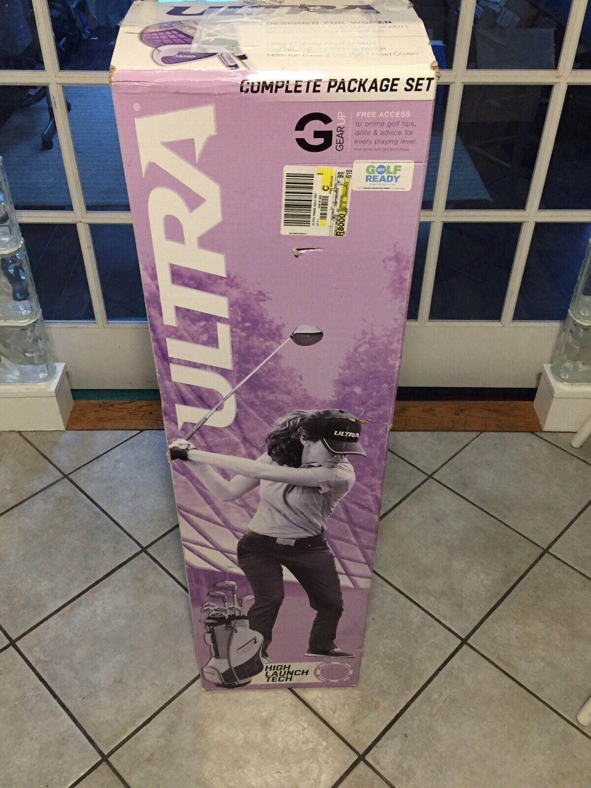 Wilson Golf Women's 2017 Ultra Package Set, Right Hand,