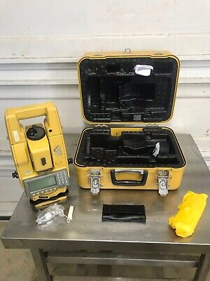 Topcon Gts-500 Electronic Dual Display Total Station