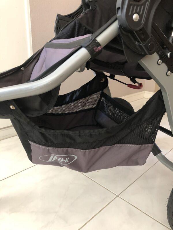 BOB Revolution CE Stroller Single Replacement Lowboy BasketGray/Black 2011-2015