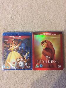 Beauty and the beast are lion king 3d