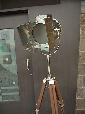 Nautical Photography Floor Lamp With Tripod Stand Studio Lamp spot Search Light
